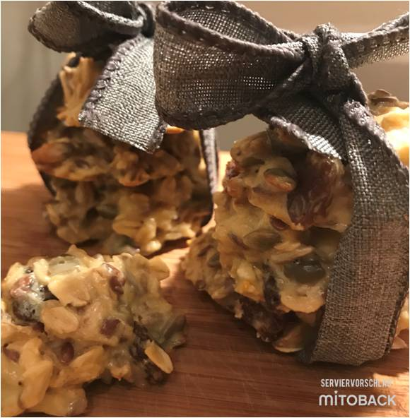 Müsli-Eiweiß Kekse